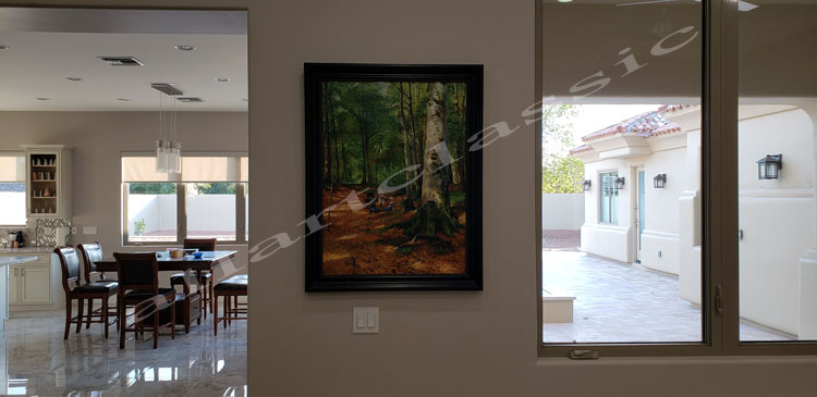 Monsted Interior Painting Work sample-Customer Review