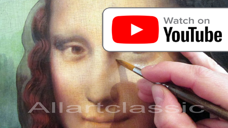 Leonardo painting on Youtube