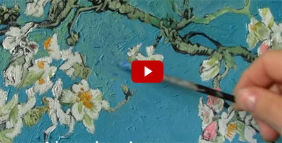 Van Gogh painting on Youtube