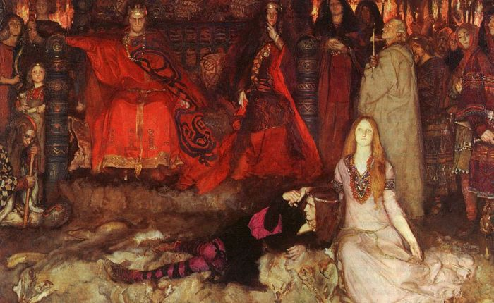 Paintings Edwin Austin Abbey