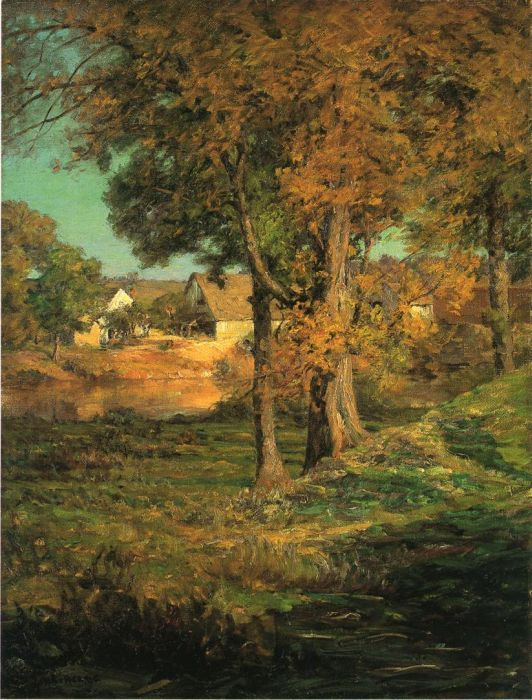 John Ottis Adams Reproductions- Thornberry's Pasture Brooklyn, Indiana , 1904