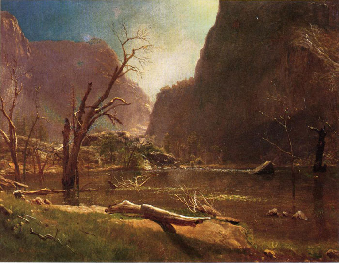 Paintings Bierstadt Albert