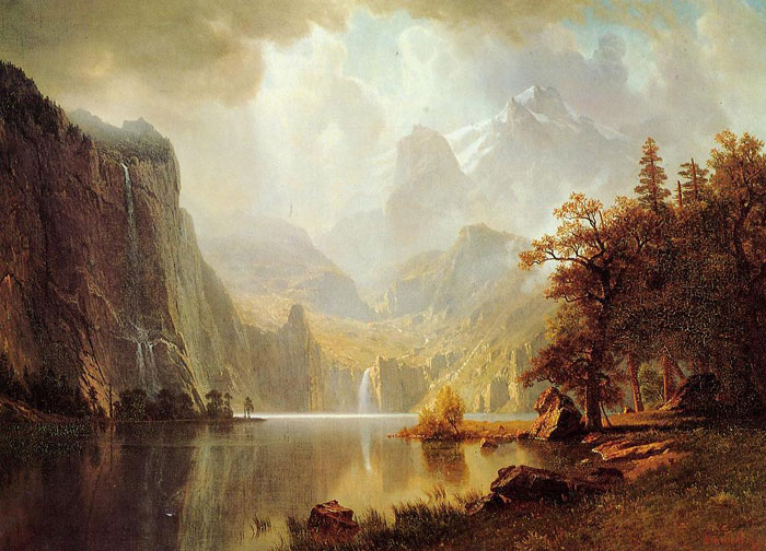 Paintings Bierstadt, Albert
