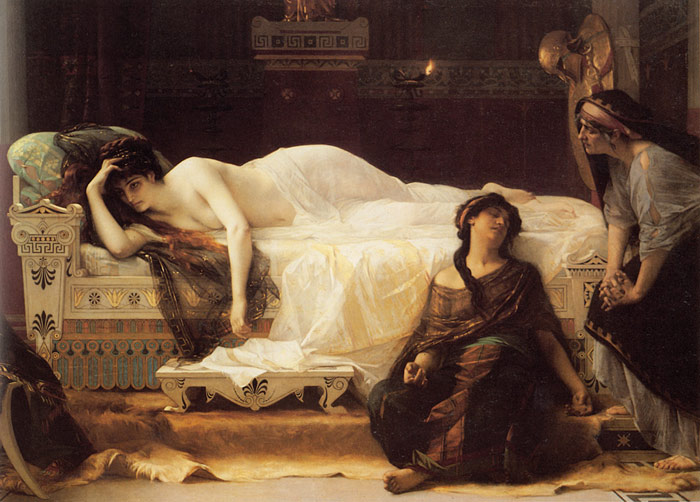 Alexandre Cabanel Reproductions-Phedre