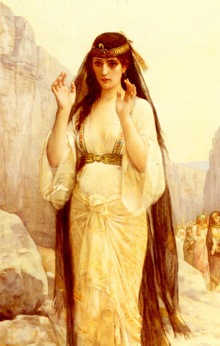 Alexandre Cabanel Reproductions-The Daughter Of Jephthah, 1879