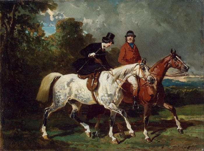 Ride, 1840 Dedreux, Alfred Painting Reproductions