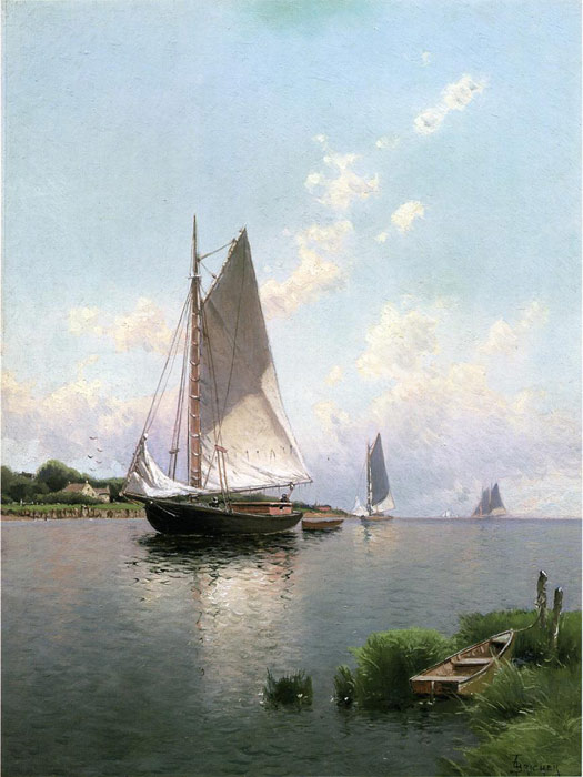 Paintings Alfred Thompson Bricher