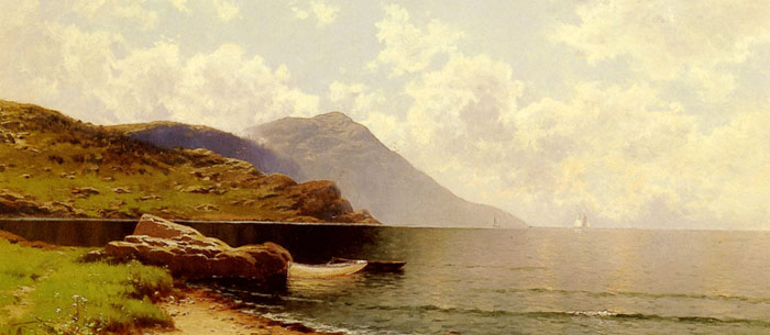 Paintings Reproductions Bricher, Alfred Thompson Rippling Sea, Manchester