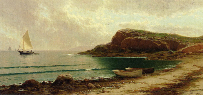 Paintings Bricher, Alfred Thompson