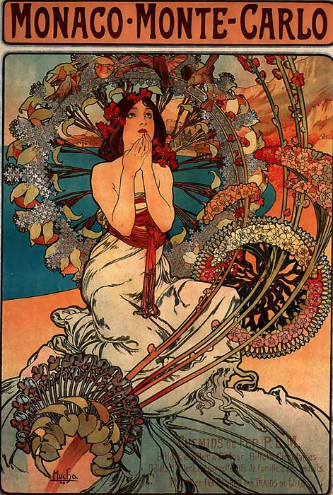 Paintings Alphonse Maria Mucha