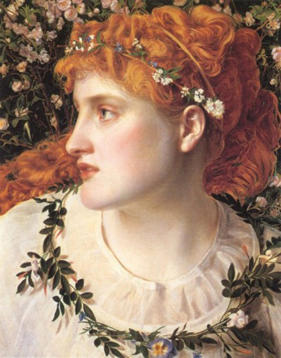Paintings Anthony Frederick Sandys