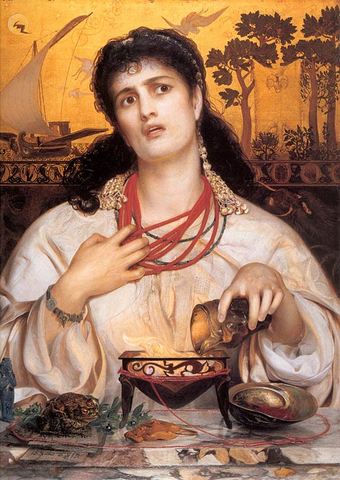 Medea, 1866-1868 Sandys, Anthony Frederick Painting Reproductions