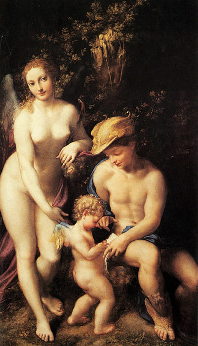 Paintings Correggio, Antonio Allegri