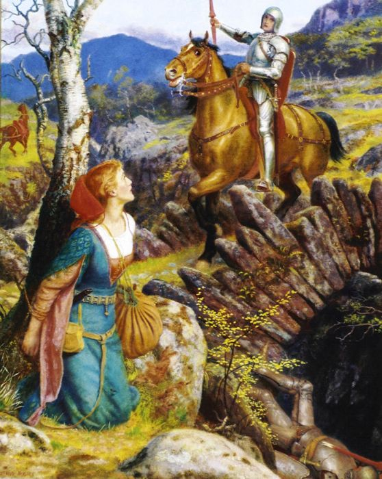 Paintings Arthur Hughes
