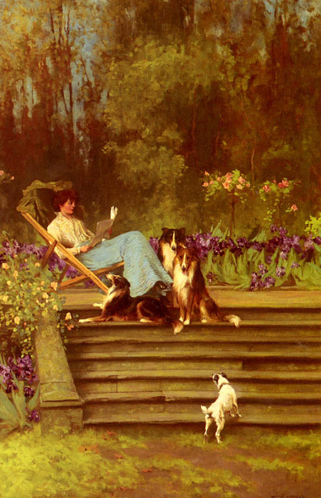 Paintings Arthur Wardle