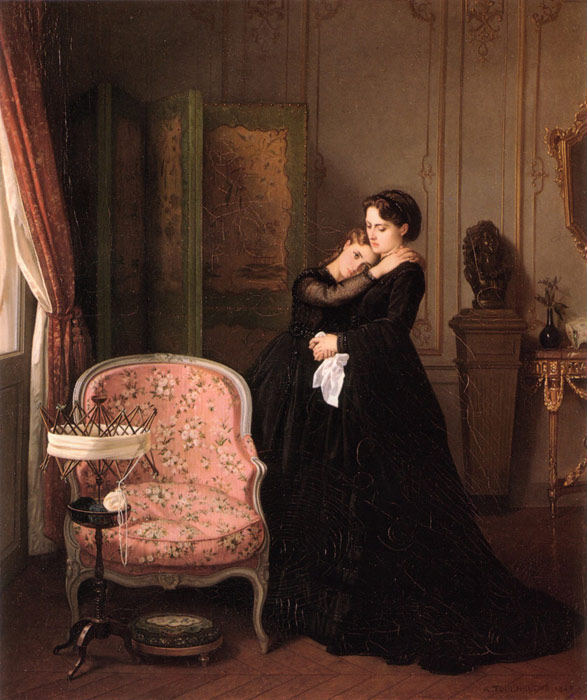 Paintings Auguste Toulmouche