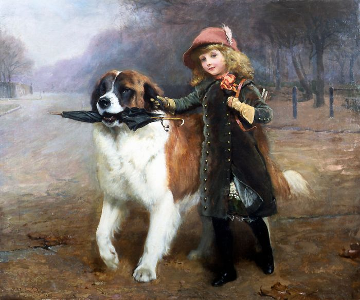 Paintings Charles Burton Barber