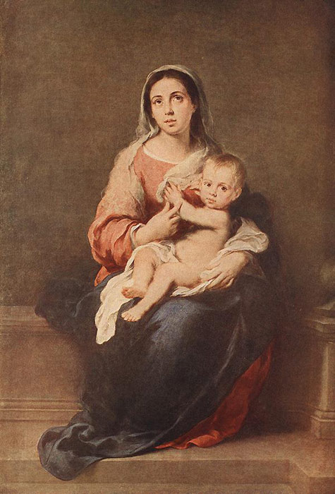 Paintings Esteban Bartolome Murillo