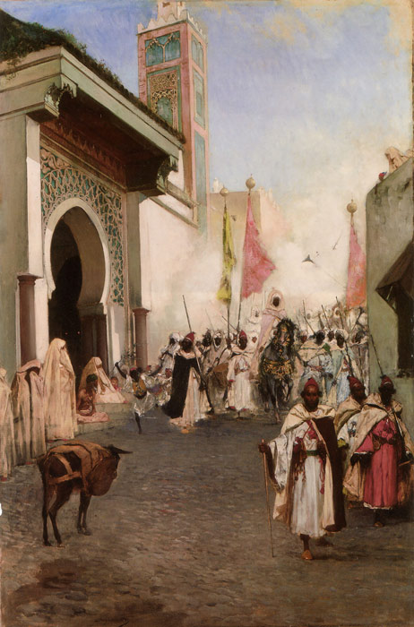 Paintings Reproductions Constant, Benjamin Jean Joseph Entrance of Mohammed II into Constantinople
