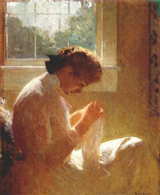Frank Weston Benson Reproductions-The Sunny Window, 1919