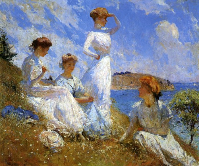 Frank Weston Benson Reproductions-Summer, 1909