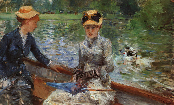Berthe Morisot Reproductions-A Summer's Day, 1879