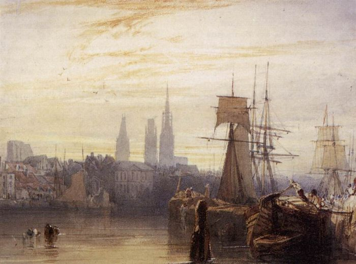 Paintings Richard Parkes Bonington