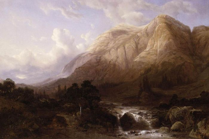 Paintings Alexandre Calame