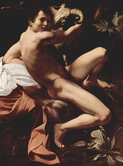 Michelangelo Merisi da Caravaggio Reproductions-John the Baptist, 1599