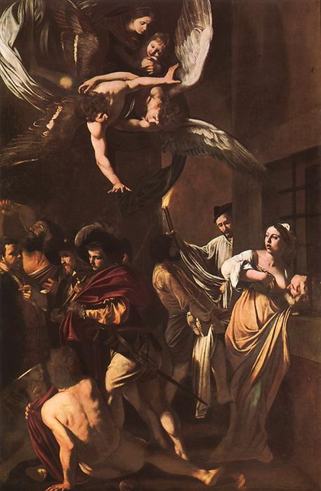 Michelangelo Merisi da Caravaggio Reproductions-The Seven Works of Mercy, 1606