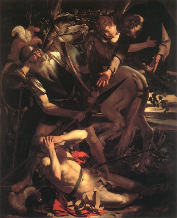 Michelangelo Merisi da Caravaggio Reproductions-The Conversion of St. Paul, 1600 - 1601