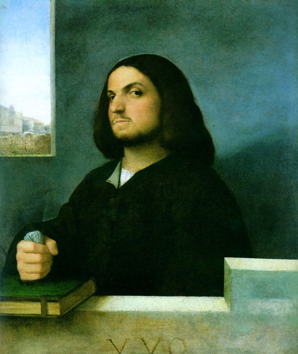 Paintings Reproductions Giorgione, Castelfranco Veneto Portrait of a Gentleman