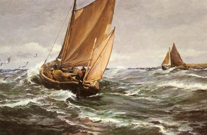 Paintings Charles Napier Hemy