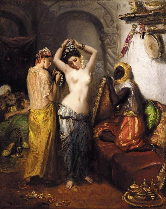 Paintings Theodore  Chasseriau
