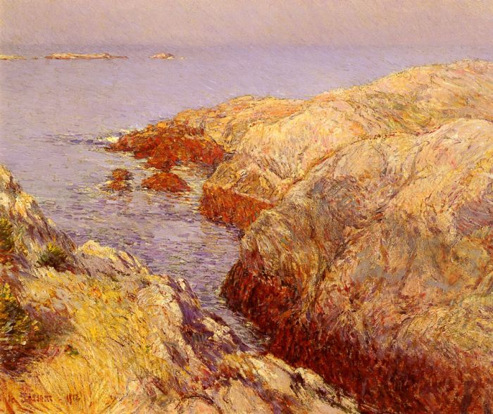 Childe Hassam Reproductions-Isles Of Shoals, 1912