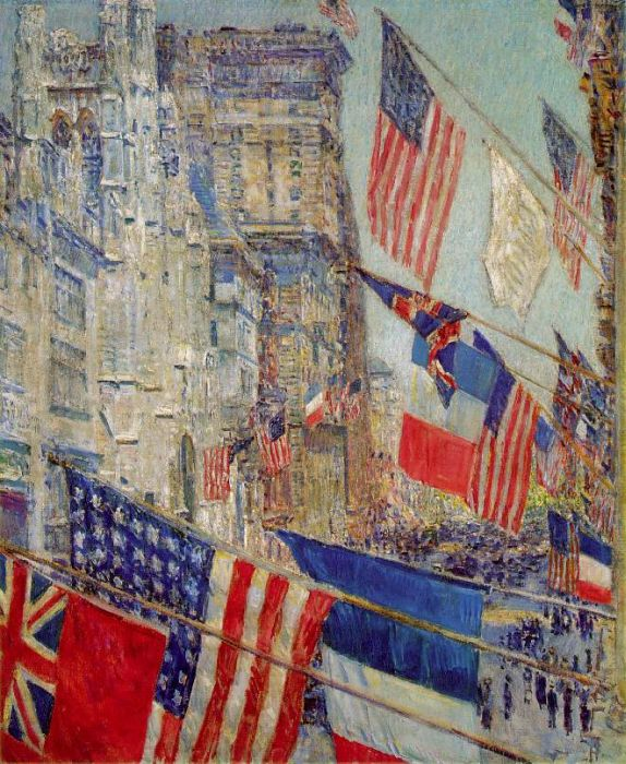 Childe Hassam Reproductions-Allies Day, May 1917, 1917