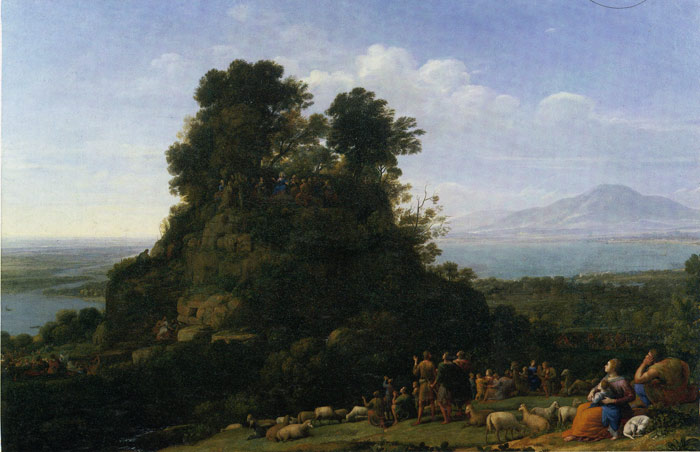 Claude Lorrain  Reproductions-The Sermon on the Mount, 1656