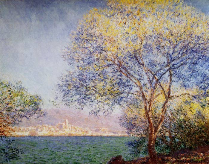 Claude Oscar Monet  Reproductions-Antibes in the Morning, 1888
