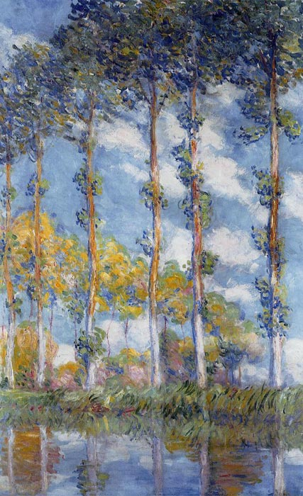 Claude Oscar Monet  Reproductions-Poplars , 1891