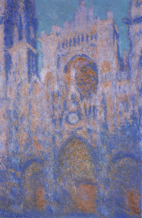 Paintings Reproductions Monet, Claude Oscar Rouen Cathedral, Symphony in Grey and Rose , 1892