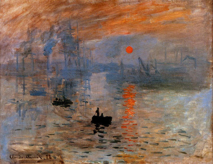 Impression Sunrise 1873 Oil Painting Reproduction