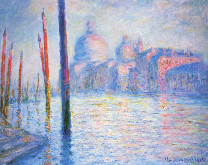 Claude Oscar Monet  Reproductions-The Grand Canal, 1908