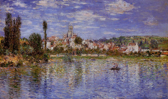 Claude Oscar Monet  Reproductions-Vetheuil in Summer , 1880