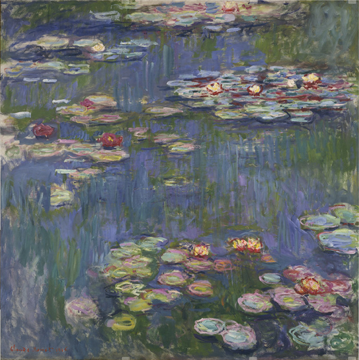 Paintings Reproductions Monet, Claude Oscar Water Lilies