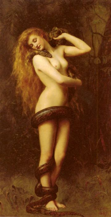 Paintings Reproductions Collier, John Lilith
