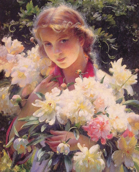 Paintings Charles Courtney Curran