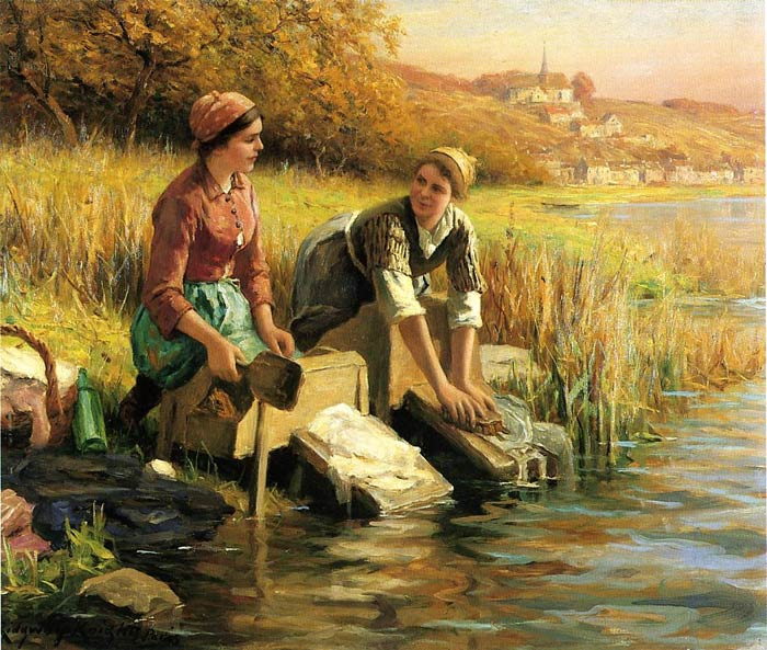 Paintings Daniel Ridgway Knight