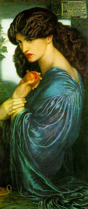 Paintings Dante Gabriel Rossetti
