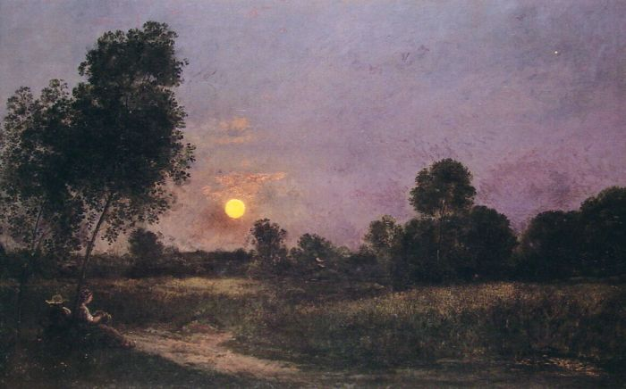 Paintings Charles-Francois Daubigny