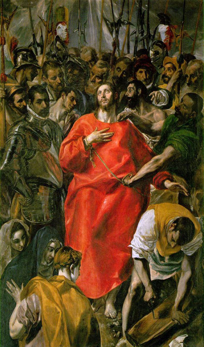 Paintings Reproductions El Greco, -Domenikos Theotokopolos The Spoliation, 1577-1579